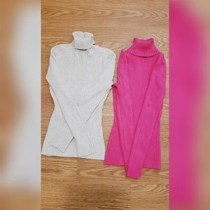 T-SHIRTS WITH TURTLENECK, LONG SLEEVES S